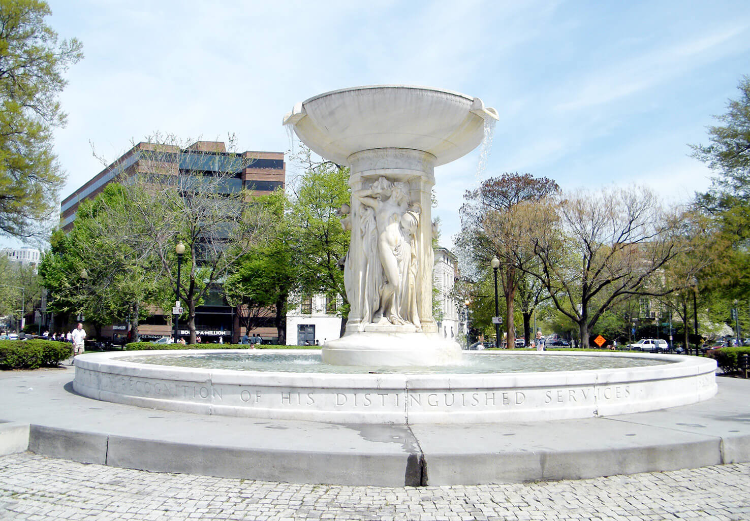 Fountain at DuPont Circle