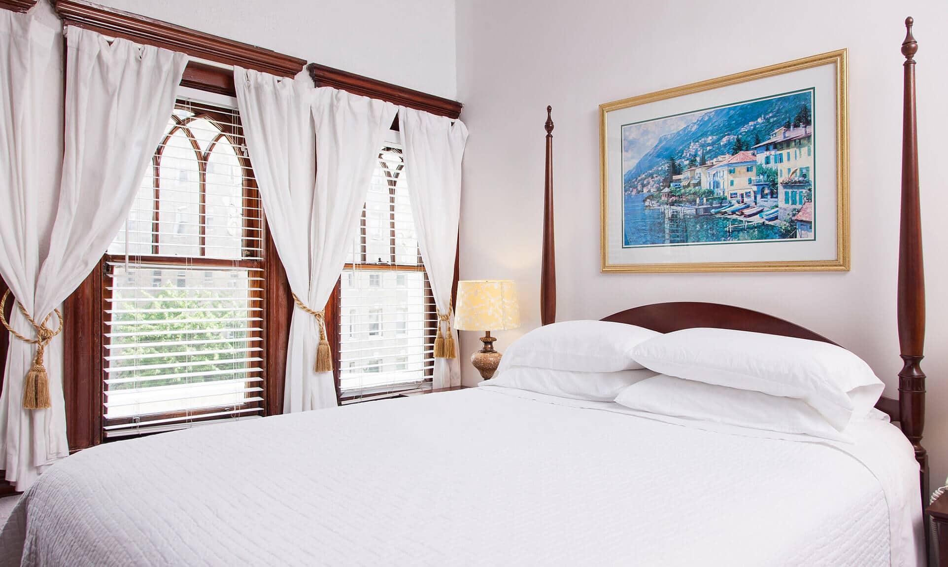 Room 401 bed
