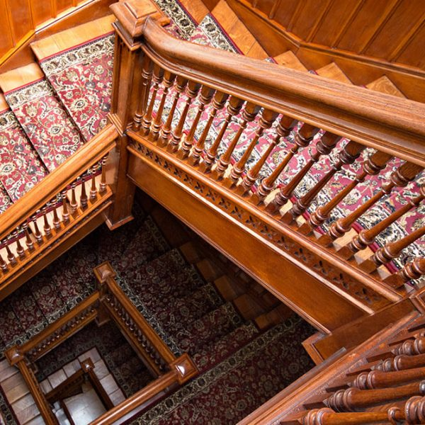 Stairs at American Guest House