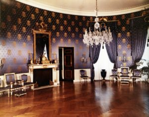 White House Blue Room in 1952