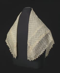 Harriet Tubman's Shawl (Credit to the National Museum of African American History and Culture's website ofpublicly available images/ Douglas Remley - Smithsonian)