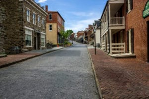 Harpers Ferry Main Street