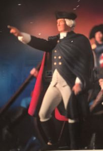 Levinthal photograph of George Washington crossing the Deleware