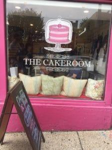 Store front photo of the CakeRoom in Adams Morgan neighborhood.